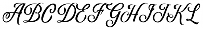 Delighter Script Regular Font UPPERCASE