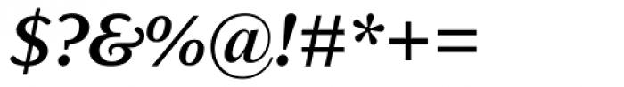 Delima MT SemiBold Italic Font OTHER CHARS