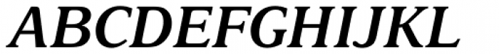 Delima MT SemiBold Italic Font UPPERCASE