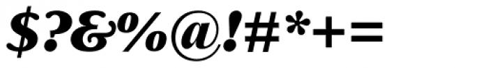 Delima Pro ExtraBold Italic Font OTHER CHARS