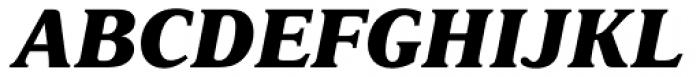 Delima Pro ExtraBold Italic Font UPPERCASE