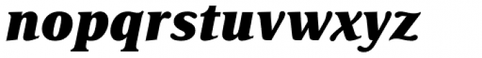 Delima Pro ExtraBold Italic Font LOWERCASE