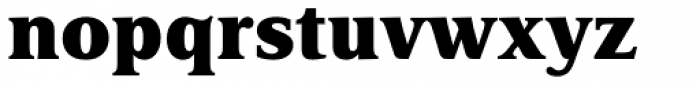 Delima Pro ExtraBold Font LOWERCASE