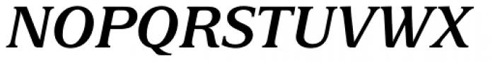 Delima Std SemiBold Italic Font UPPERCASE