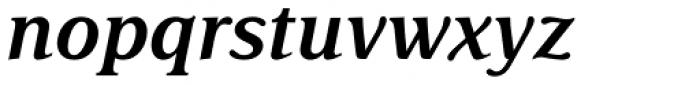 Delima Std SemiBold Italic Font LOWERCASE
