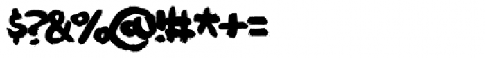 Deliver Font OTHER CHARS