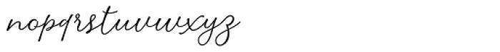 Delizius Script Latin Pro Regular Font LOWERCASE