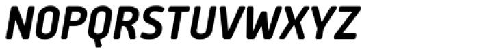 Delm Bold Italic Font UPPERCASE