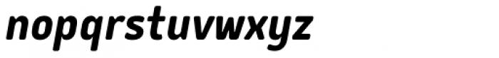 Delm Bold Italic Font LOWERCASE