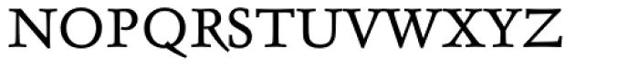 Delphin I Alternative Font UPPERCASE