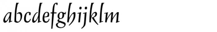 Delphin I Alternative Font LOWERCASE
