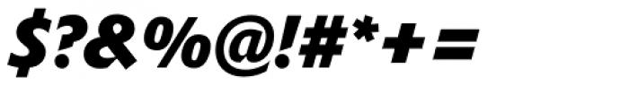 Delta Jaeger Bold Italic Font OTHER CHARS
