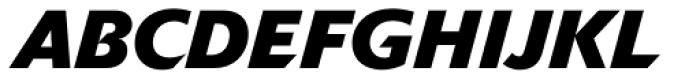 Delta Jaeger Bold Italic Font UPPERCASE