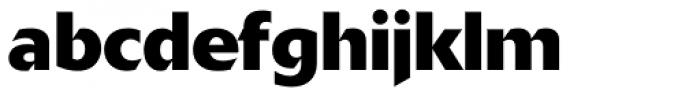 Delta Jaeger Bold Font LOWERCASE