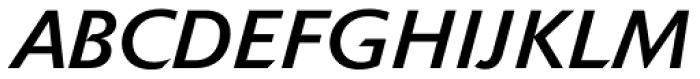 Delta Jaeger Book Italic Font UPPERCASE