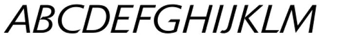 Delta Jaeger Light Italic Font UPPERCASE