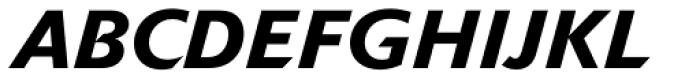 Delta Jaeger Medium Italic Font UPPERCASE