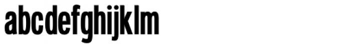Deltarbo Slim Font LOWERCASE