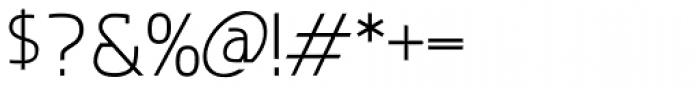 Deltona Light Font OTHER CHARS