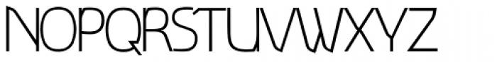 Deltona Light Font UPPERCASE