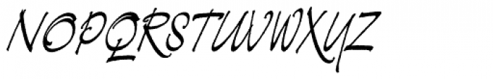 Demian Std Font UPPERCASE