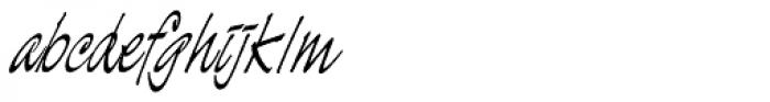 Demian Std Font LOWERCASE