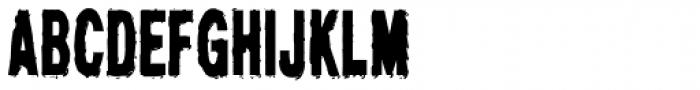 Demigrunge Font UPPERCASE