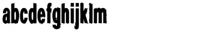 Demigrunge Font LOWERCASE