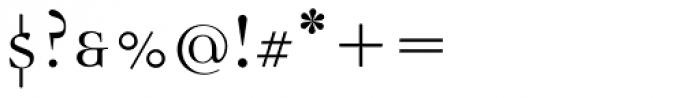 Democratica Regular Font OTHER CHARS