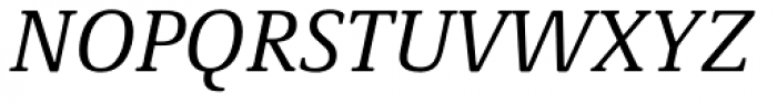 Demos Next Italic Font UPPERCASE