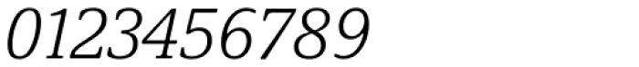 Demos Next Light Italic Font OTHER CHARS