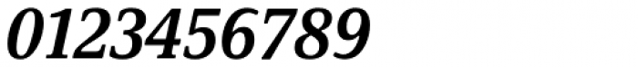 Demos Next Pro Cond Bold Italic Font OTHER CHARS