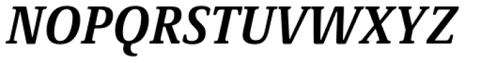 Demos Next Pro Cond Bold Italic Font UPPERCASE