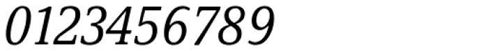 Demos Next Pro Cond Italic Font OTHER CHARS