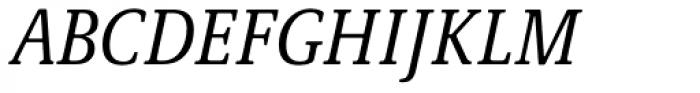 Demos Next Pro Cond Italic Font UPPERCASE
