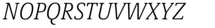 Demos Next Pro Cond Light Italic Font UPPERCASE