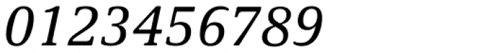 Demos Std Italic Font OTHER CHARS