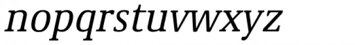 Demos Std Italic Font LOWERCASE