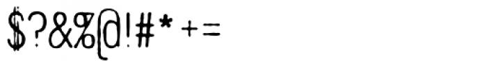Denim Light Font OTHER CHARS