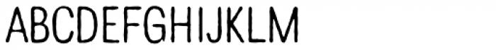Denim Light Font UPPERCASE