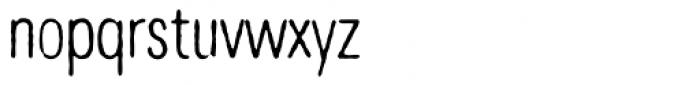 Denim Light Font LOWERCASE