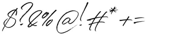 Denmark Regular Font OTHER CHARS