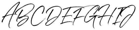 Denmark Regular Font UPPERCASE