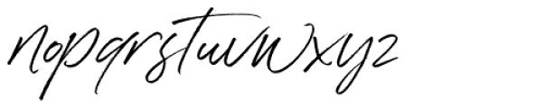 Denmark Regular Font LOWERCASE
