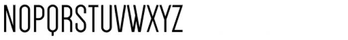Dense Font UPPERCASE
