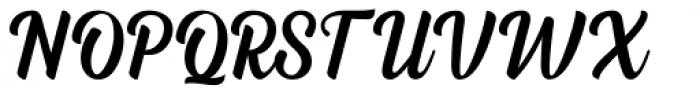 Dephiana Regular Font UPPERCASE