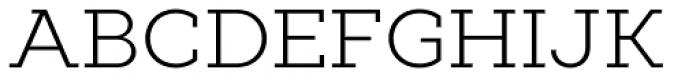 Deposit Pro Light Font UPPERCASE