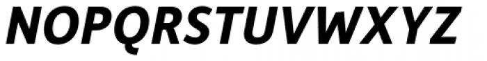 Depot New Bold Italic Font UPPERCASE