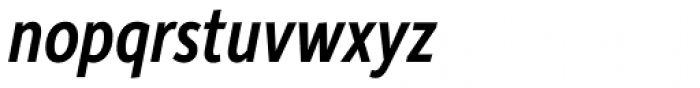 Depot New Condensed Medium Italic Font LOWERCASE