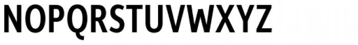 Depot New Condensed Medium Font UPPERCASE